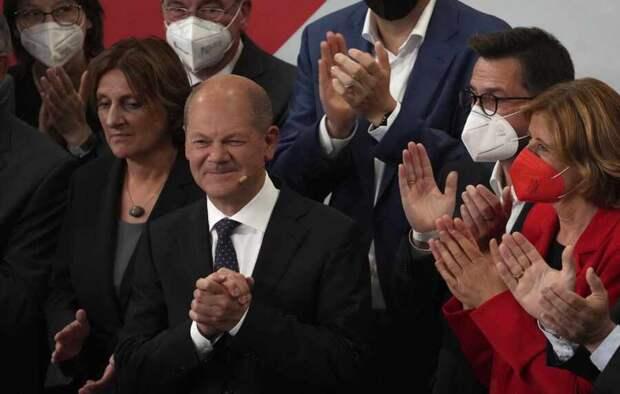 Итоги выборов в ФРГ: победу одержали Социал-демократы