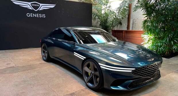 Genesis опубликовал новый тизер своего электромобиля перед дебютом в Шанхае
