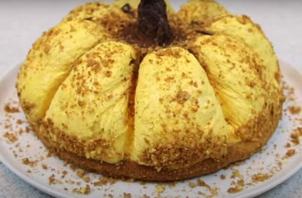 Тортик «Тыква» — нежный и вкусный