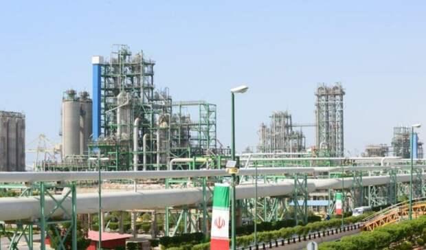 До100млн тонн нарастил Иран мощности попроизводству нефтехимии