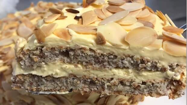 Шведский миндальный торт, как в IKEA! Принесите кусочек Швеции в свой дом
