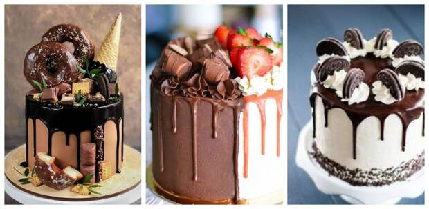 Как украсить торт печеньем и сладостями: 20 идей