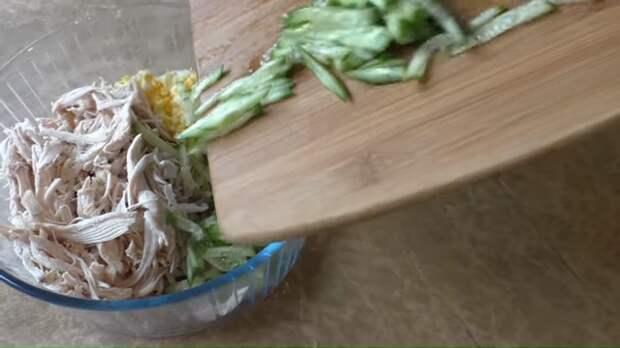 Вкусный салат на Пасхальный стол Салат, Вкусно, Праздничный стол, Другая кухня, Приготовление, Видео рецепт, Видео, Длиннопост, Рецепт