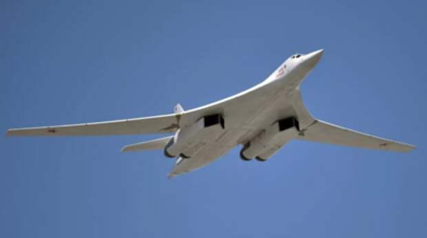 Два Ту-160 выполнили полёт над Балтийским морем