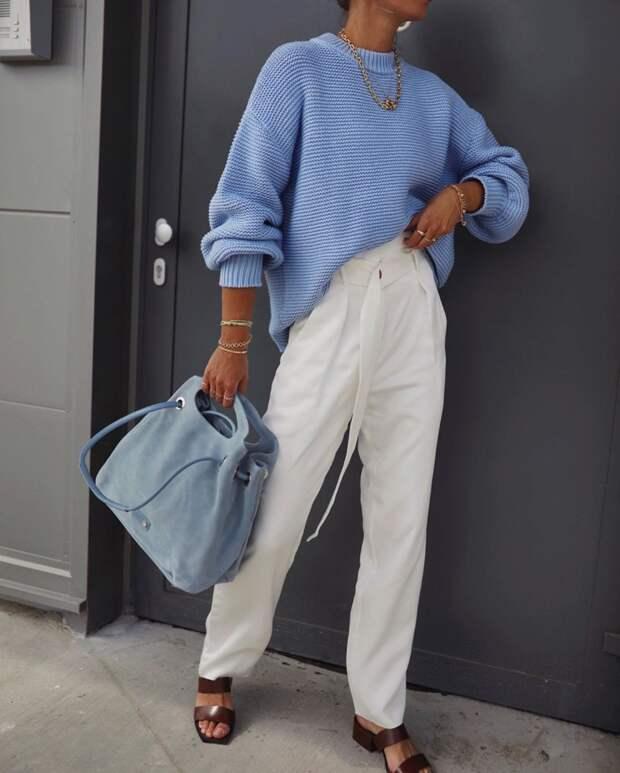 16 идей как составить стильный образ с брюками