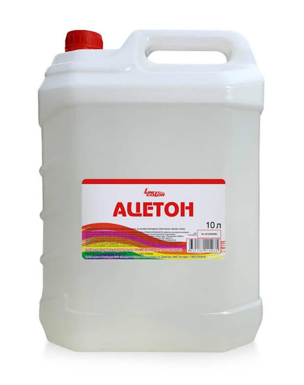 Растворитель Ацетон — технические характеристики