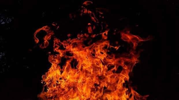 Пожар на Синявинской ликвидировали подручными средствами