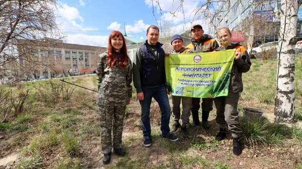 В Улан-Удэ стартовал пятый сезон озеленения
