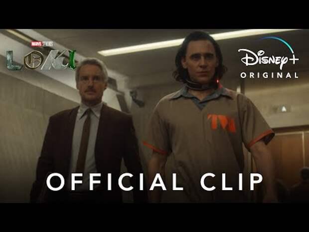 Marvel показала отрывок изсериала «Локи»