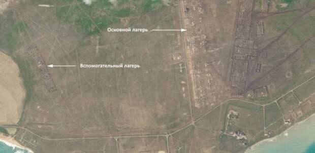Der Spiegel «обнаружил» на снимках Крыма со спутника российский военный лагерь
