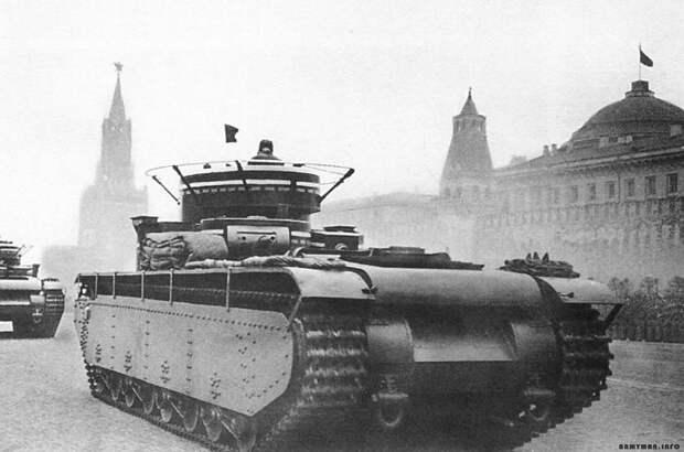 Выглядел танк очень грозно. /Фото: armedman.ru.