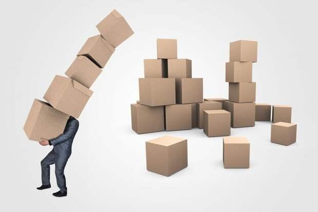 Картонные коробки в доме на Велозаводской больше не мешают проходу