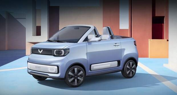 Электрокар Wuling Mini EV Cabrio станет серийным