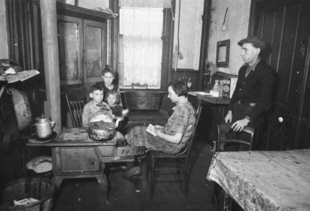 Журнал «Нива» о том, как переселенцы прибывали в Америку