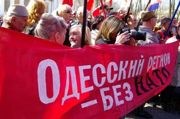 С 2006 г отношение Юго-Востока Украины к НАТО изменилось на 180