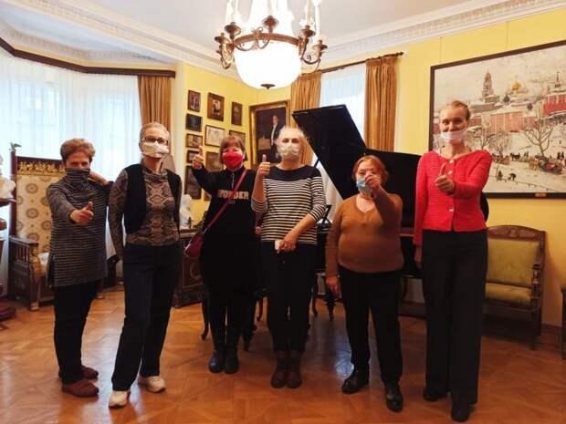 Подопечные ЦСО «Сокол» побывали в квартире выдающегося музыканта 20-века