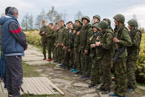 23 января пройдут Всероссийские военные сборы студентов и школьников