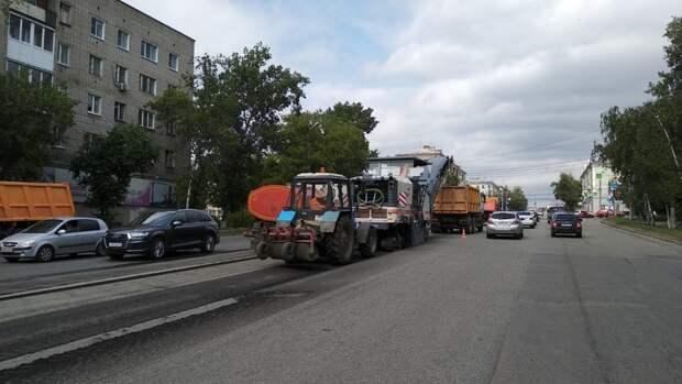 Ижевские дорожники начали ремонт улицы Удмуртская в рамках нацпроекта