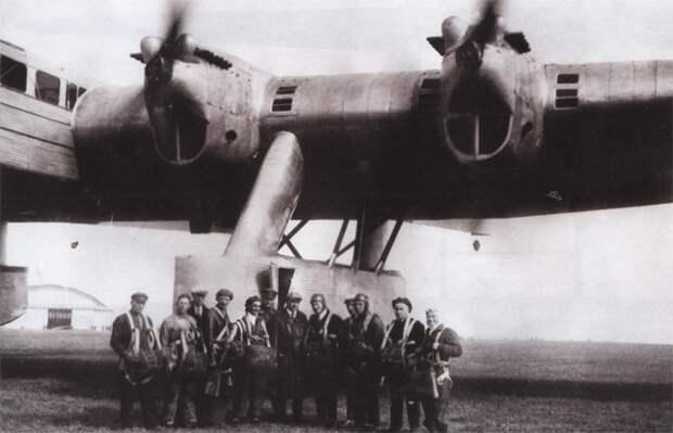 К-7: тайна катастрофы первого советского самолёта-гиганта