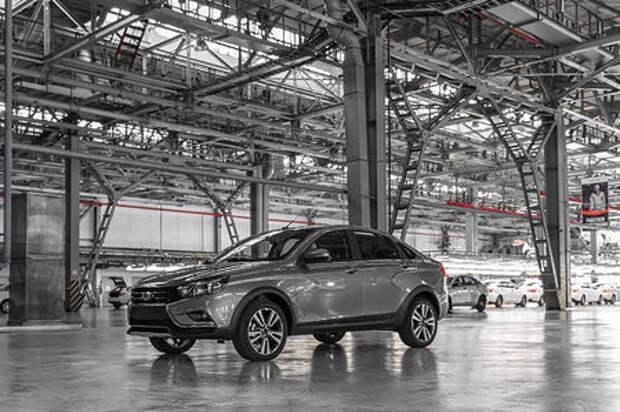 Седан Lada Vesta Cross: производство началось. Когда его ждать в продаже?