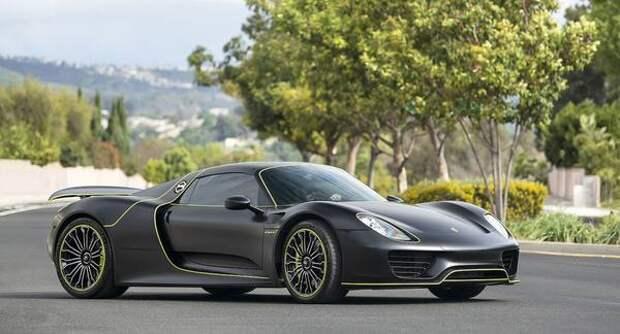 Porsche 918 Spyder: Высокие технологии в ручной работе