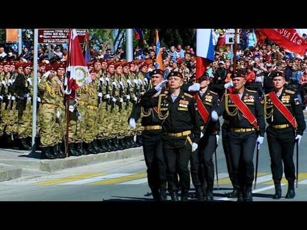 Полная версия Парада Победы в Севастополе
