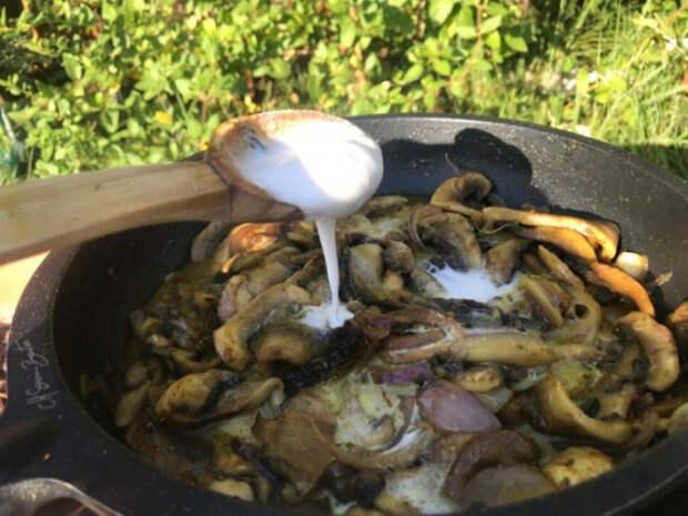 Карри с грибами