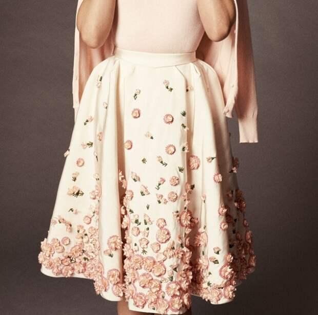Стильная юбка к Новому году. Необычные и очень красивые идеи