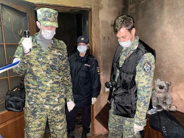 В Крыму возбудили уголовное дело против социальных служб из-за смерти двух маленьких детей и их дедушки на пожаре
