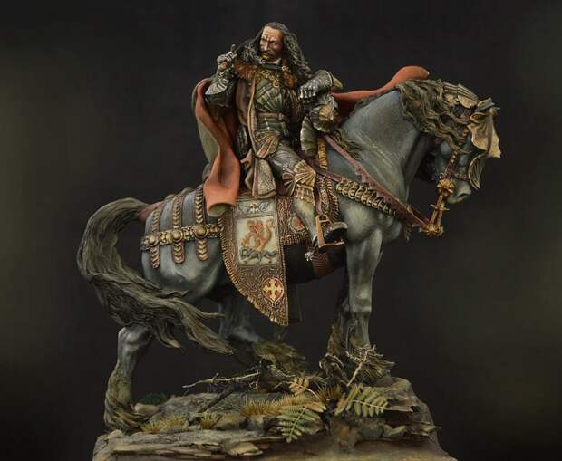 Гибель валашского воеводы Влада Дракулы (1431-1476).