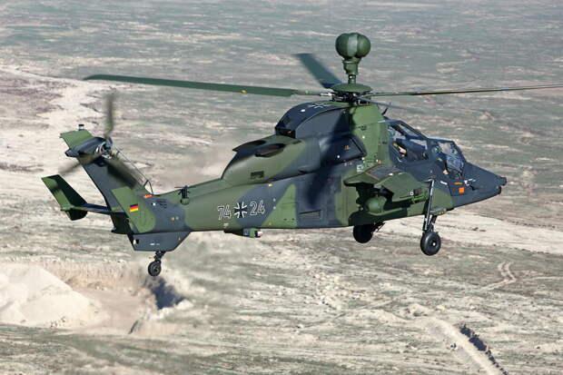 """Ударный вертолет Бундесвера """"Тигр"""""""