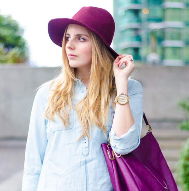 Платье-рубашка из шамбре: универсальная вещь в гардеробе