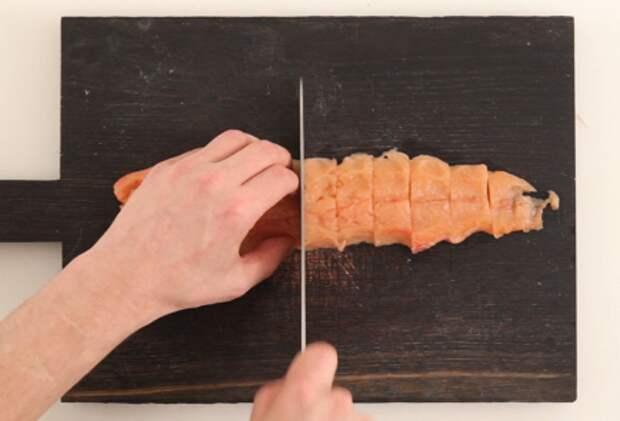 Фото приготовления рецепта: Севиче из горбуши - шаг 1