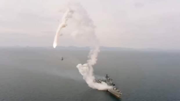 Российская крылатая ракета вышла из-под контроля и упала в море рядом с запустившим ее эсминцем