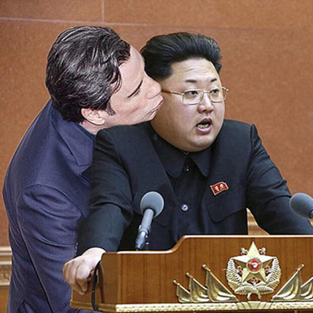 Джон Траволта и Ким Чен Ын