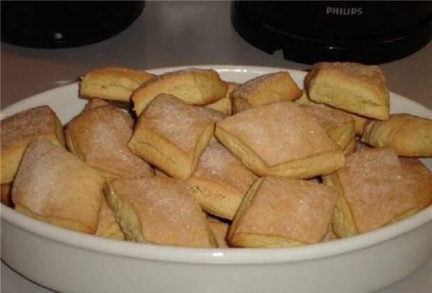 Мягкое печенье на кефире – простой рецепт.
