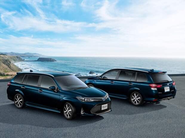 Toyota Corolla Fielder 2-й рестайлинг 2017, универсал, 3 поколение, E160 (10.2017 - н.в.) - технические характеристики и комплек