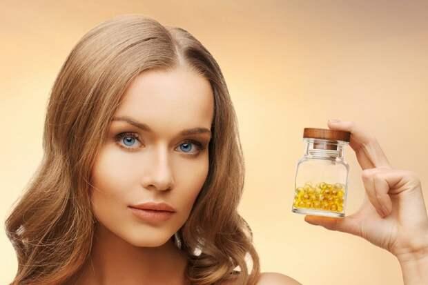 маска для лица с витамином е в капсулах