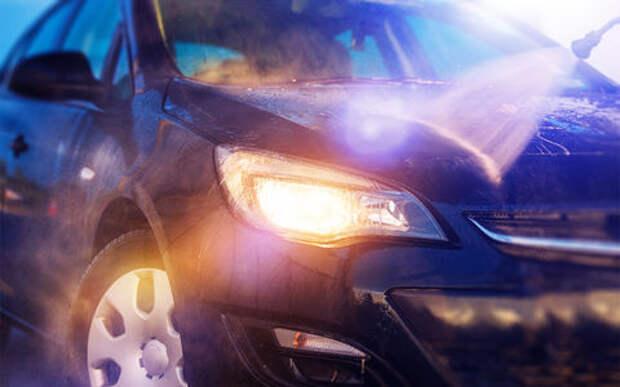 ГИБДД начинает наводить резкость на чистоту автомобилей. Весна!