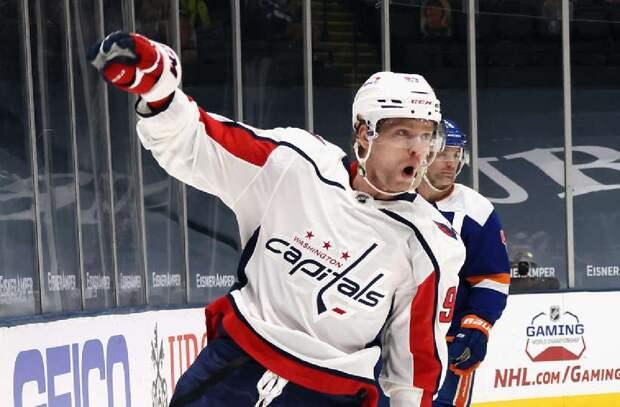 Кузнецов стал третьей звездой матча «Вашингтон» – «Детройт»