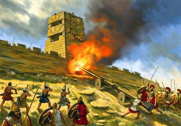 Гнев Медеи: использование химического оружия в древности