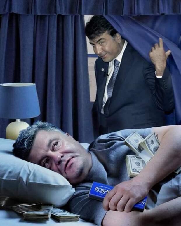 Реакция на возвращение Саакашвили на Украину и компромат на Мишико