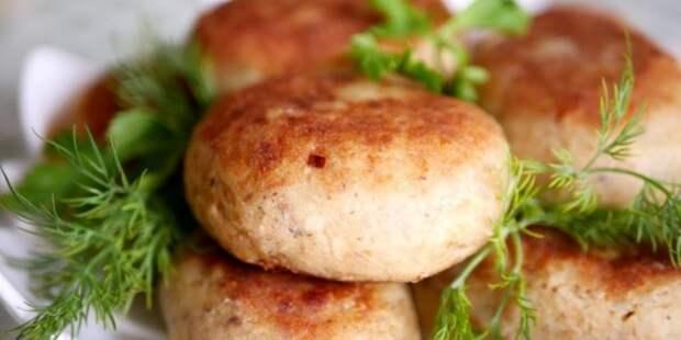 Картофельные котлеты с рыбными консервами. \ Фото: google.ru.