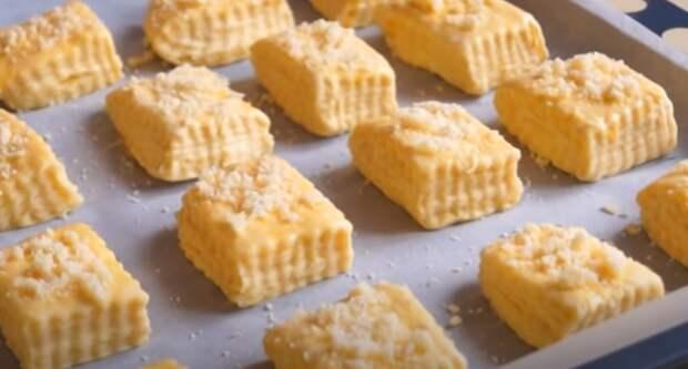 Бесподобные слоистые булочки из ночного теста. Вкусные и готовятся просто