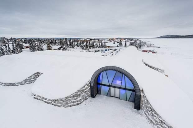 ❄️ 8 крутых фото ледяного отеля в Швеции