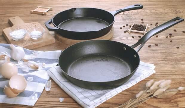 Распространенные ошибки в обращении с чугунной сковородой