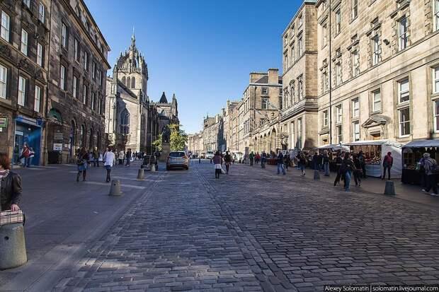 Эдинбург. Шотландия
