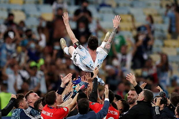 Сборная Аргентины завоевала победу в турнире Кубка Америки