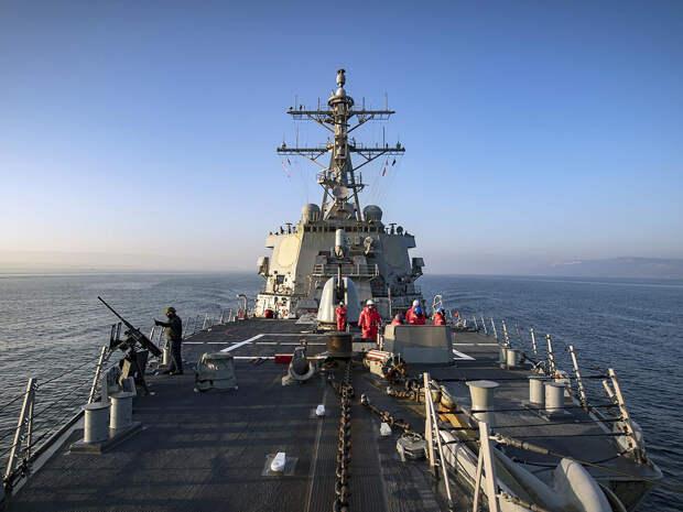 Эксперт раскрыла, почему США отказались от прохода двух кораблей ВМФ в Черное море