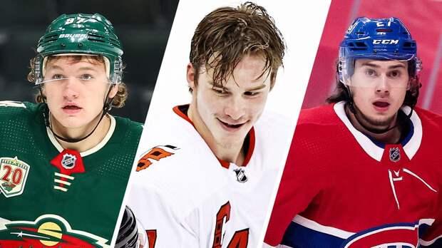 5 русских звезд января в НХЛ. Капризов и Романов ворвались в лучшую лигу мира, Свечников поставил голы на поток